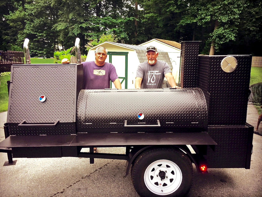 Gameday smoker in PA by Northern Smokers