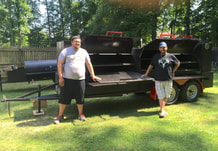 Goliath smoker in PA, Northern Smokers, Backwood Brothers Authentic Texas Barbecue